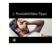 7 Tipps für mehr Produktivität