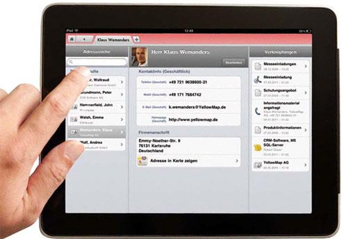 CAS genesisWorld iPad Client