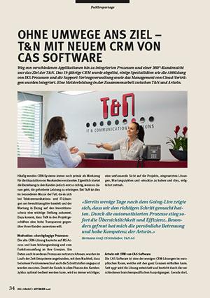 T&N CRM-Projekt Referenzbericht